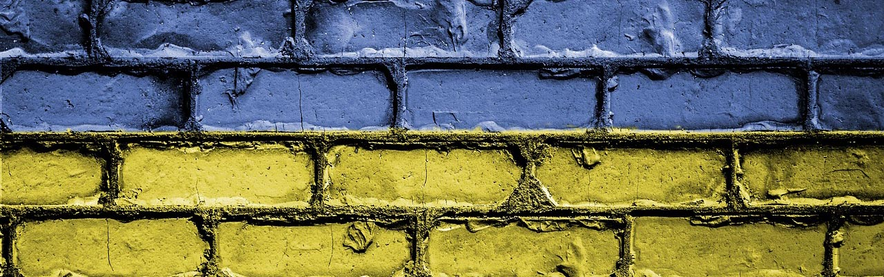 Quality Foundation Repair - Yellow and Blue Brick Banner