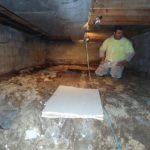 Quality Foundation Repair - Crawl Space Vapor Barrier / Leveling the floor